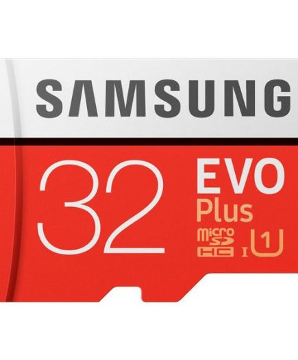 xekios Carte Micro SD Samsung EVO Plus MB-MC32G 32 GB Rouge Blanc