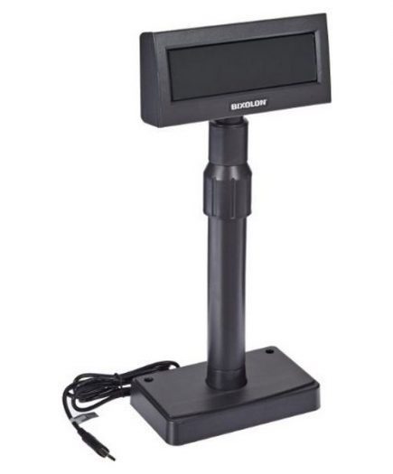 xekios Afficheur pour TPV Bixolon BCD-1100DG/BEG USB Noir