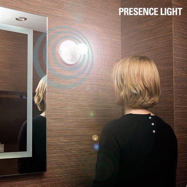 xekios Douille d'Ampoule avec Détecteur de Mouvement Presence Light