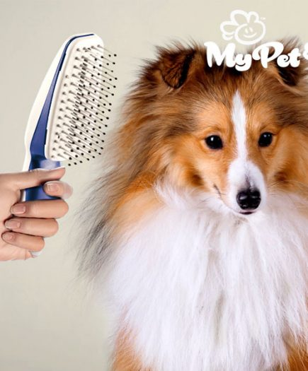 xekios Brosse Ionique pour Animaux de Compagnie My Pet Groom