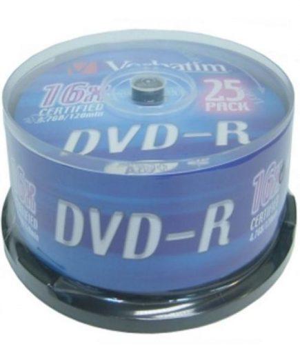 xekios DVD-R Verbatim 43522 16x 25 pcs