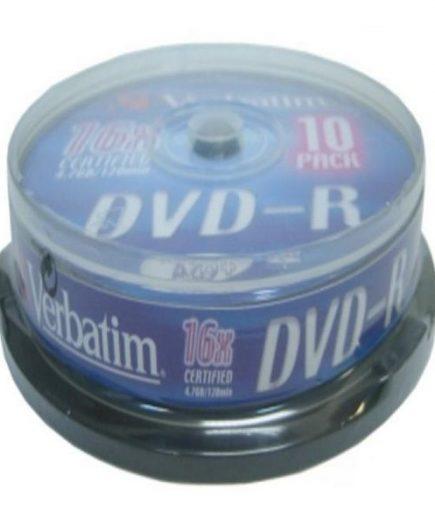 xekios DVD-R Verbatim 43523 16x 10 pcs