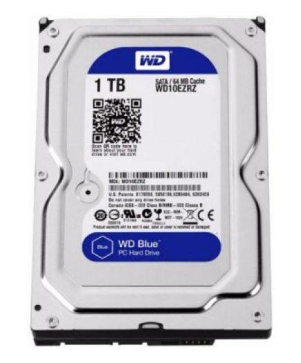 xekios Disque dur Western Digital Blue WD10EZRZ 3.5 1 TB Sata III 5400 rpm Buffer 64 MB