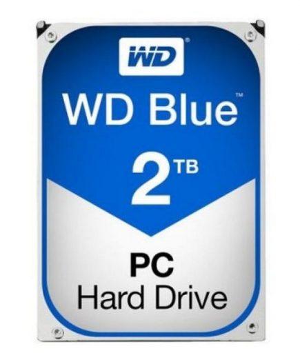 xekios Disque dur Western Digital Blue WD20EZRZ 3.5 2 TB Sata III 5400 rpm Buffer 64 MB