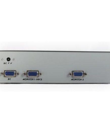 xekios Commutateur VGA avec 2 Ports GEMBIRD GVS122 Blanc