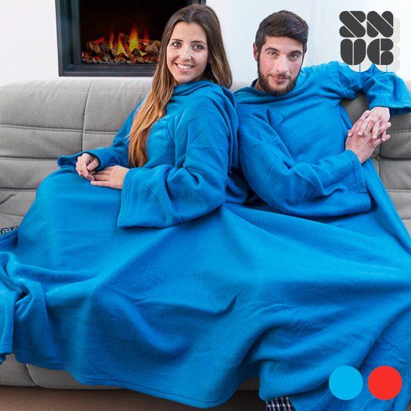 xekios Couverture à Manches Double Adultes Snug Snug Big Twin