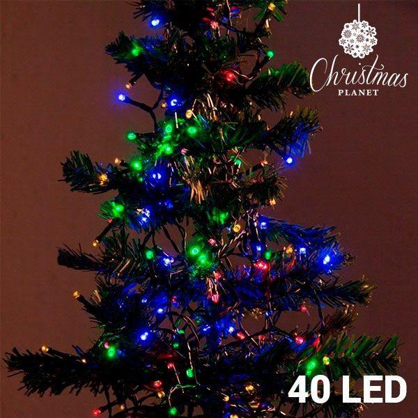 xekios Lumières de Noël Multicouleur (40 LED)