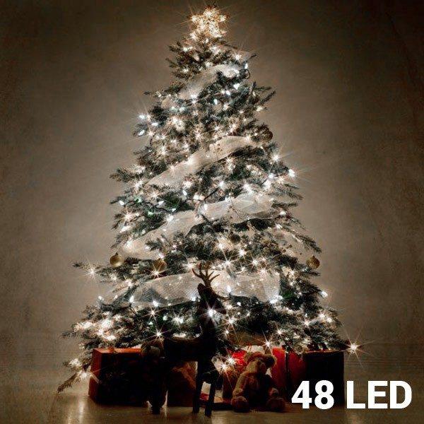 xekios Lumières Blanches de Noël (48 LED)