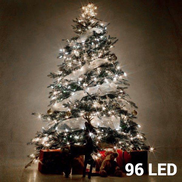 xekios Lumières Blanches de Noël (96 LED)