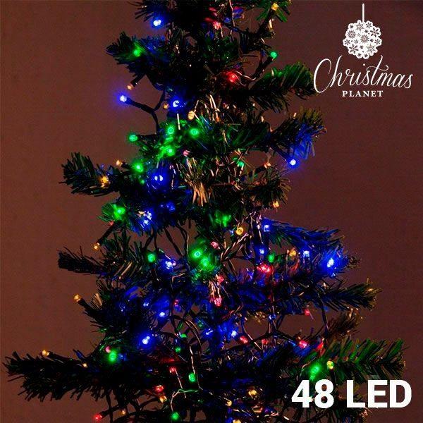 xekios Lumières de Noël Multicouleur (48 LED)