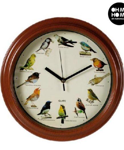 xekios Horloge Murale Mélodie Oiseau