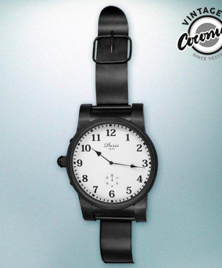 xekios Horloge de Table Montre Paris Vintage Coconut