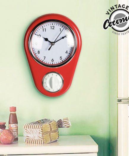 xekios Horloge Murale Minuterie Vintage Coconut