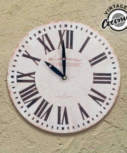 xekios Horloge Murale Remember Vintage Coconut