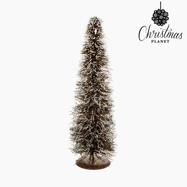 xekios Sapin de Noël Rotin Naturel Blanc (20 x 20 x 60 cm) by Christmas Planet