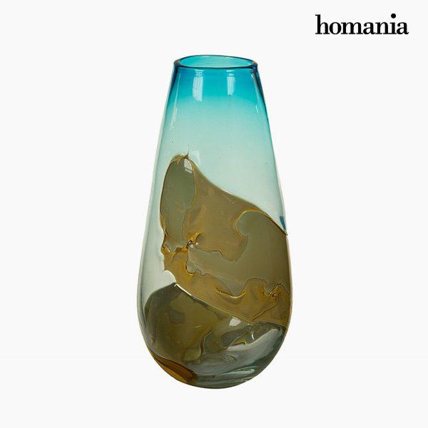 xekios Vase Verre (18 x 18 x 38 cm) - Collection Pure Crystal Deco by Homania