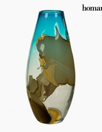 xekios Vase Verre (26 x 26 x 23 cm) - Collection Pure Crystal Deco by Homania