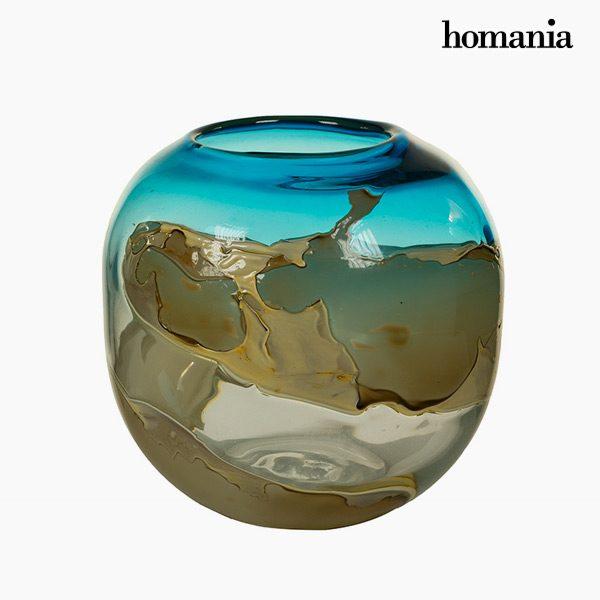 xekios Vase Verre (28 x 28 x 25 cm) - Collection Pure Crystal Deco by Homania