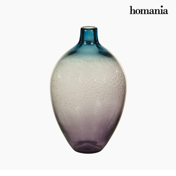 xekios Vase Verre (20 x 20 x 35 cm) - Collection Pure Crystal Deco by Homania