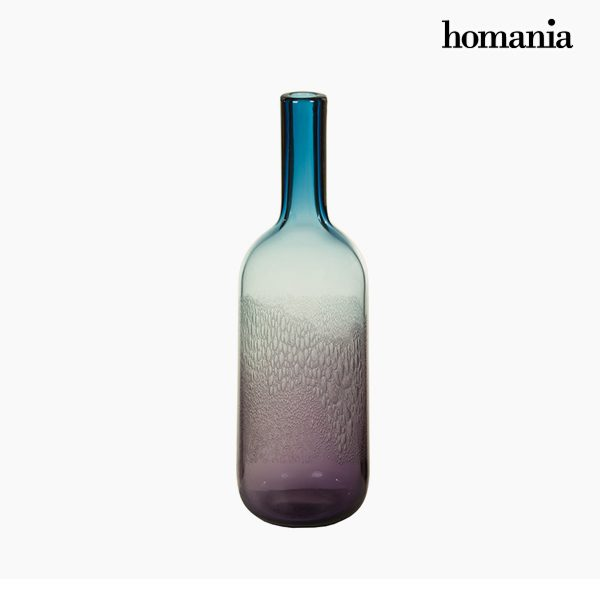 xekios Vase Verre (11 x 11 x 38 cm) - Collection Pure Crystal Deco by Homania