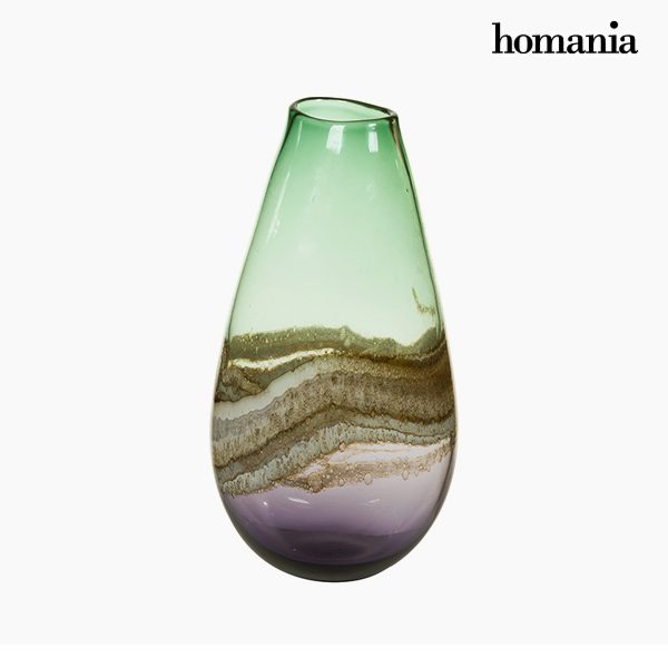 xekios Vase Verre (19 x 15 x 37 cm) - Collection Pure Crystal Deco by Homania