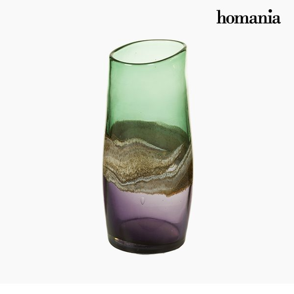 xekios Vase Verre (13 x 15 x 30 cm) - Collection Pure Crystal Deco by Homania