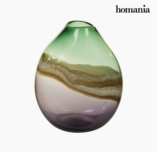 xekios Vase Verre (25 x 20 x 33 cm) - Collection Pure Crystal Deco by Homania