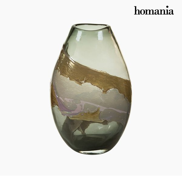 xekios Vase Verre (23 x 15 x 35 cm) - Collection Pure Crystal Deco by Homania