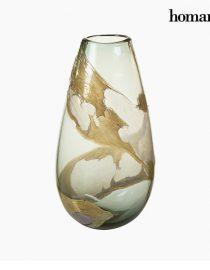 xekios Vase Verre (27 x 17 x 31 cm) - Collection Pure Crystal Deco by Homania