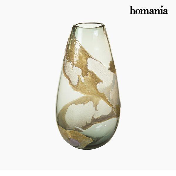 xekios Vase Verre (21 x 14 x 37 cm) - Collection Pure Crystal Deco by Homania