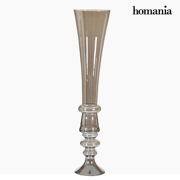 xekios Vase (21 x 21 x 85 cm) - Collection Pure Crystal Deco by Homania