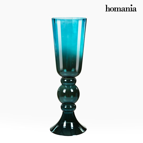 xekios Vase Verre (22 x 22 x 64 cm) - Collection Pure Crystal Deco by Homania