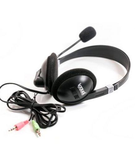 xekios Casque & Microphone iggual PSI09001 Noir