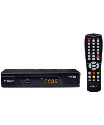 xekios Récepteur TNT NEVIR NVR-2593 HDTV USB Noir
