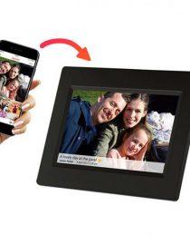 xekios Cadre Photo Numérique Denver Electronics PFF-710B 7 8 GB WIFI Blanc