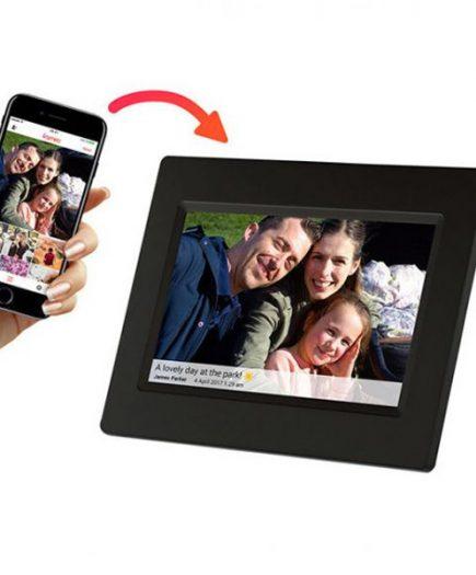 xekios Cadre Photo Numérique Denver Electronics PFF-710B 7 8 GB WIFI Noir