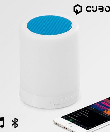 xekios Enceinte Bluetooth avec LED CuboQ Mood Light