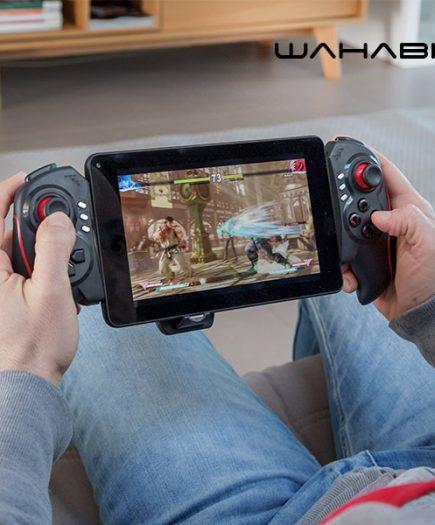 xekios Gamepad Bluetooth pour Smartphone et Tablette Wahabit BG-Telescopic