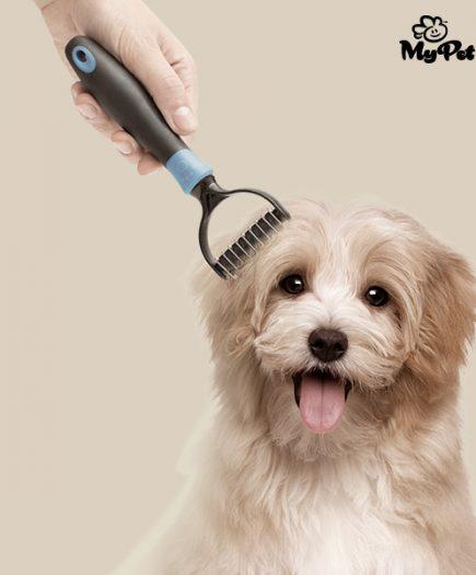 xekios Démêloir Coupe-noeuds pour Animaux de Compagnie My Pet Autum Brush