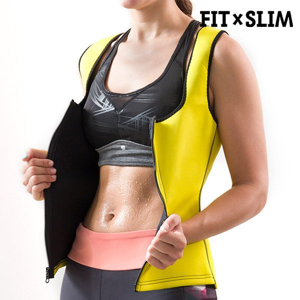 xekios Gilet de Sport X-Tra Sauna Women's Suit Vest Fit x Slim