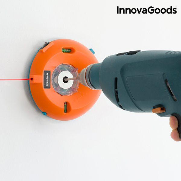 xekios Récupérateur de Poussière pour Perceuse avec Niveaux et Marqueur Laser InnovaGoods