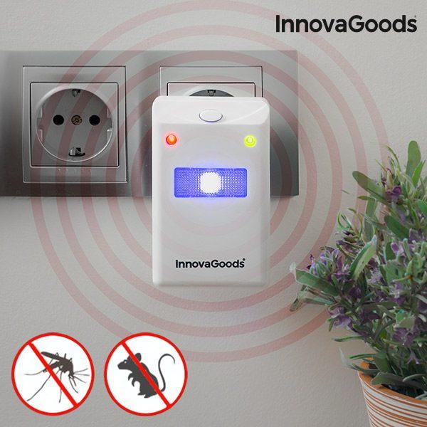 xekios Répulsif contre les Insectes et Rongeurs avec LED InnovaGoods