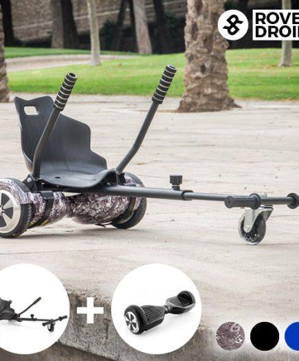 xekios Pack Hoverkart Go ! Kart 720 + Hoverboard Rover Droid