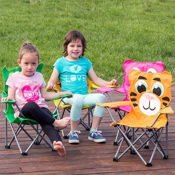 xekios Chaise Pliable pour Enfants Amimaux