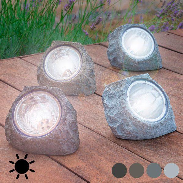 xekios Pierre Artificielle Solaire (4 LED)