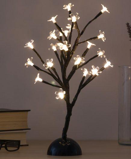 xekios Arbre Décoratif à Fleurs (24 LED)