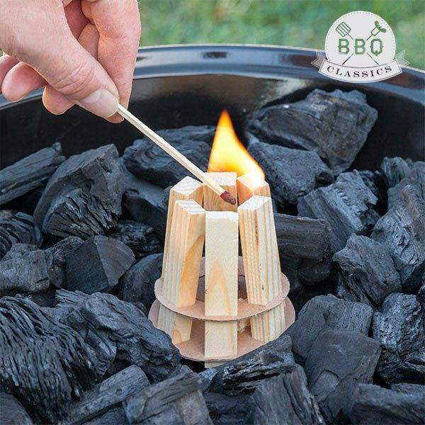 xekios Bois d'Allumage pour Barbecue BBQ Classics