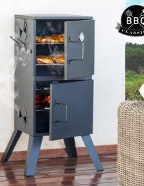 xekios Barbecue à Charbon Cylindrique BBQ Classics