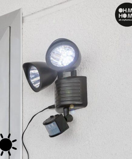 xekios Lampe Solaire avec Capteur de Mouvement Oh My Home