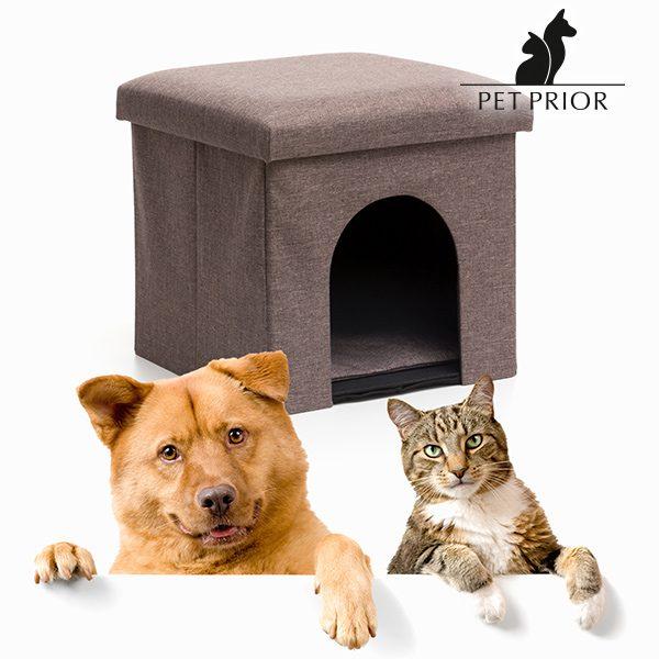 xekios Puff-Maison Pliable pour Animaux Pet Prior